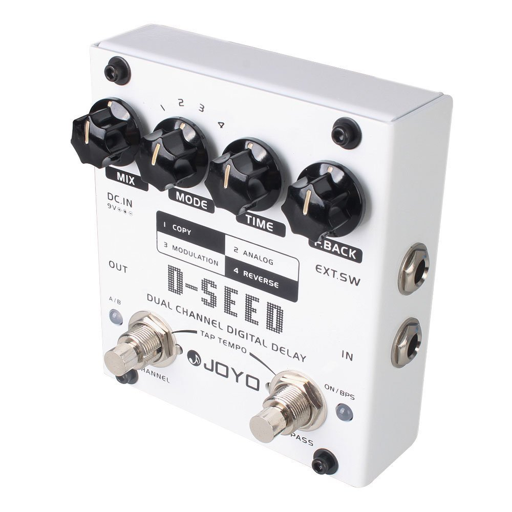 [D-SEED | Pedal Guitarra Dual Chanel Digital Delay]
