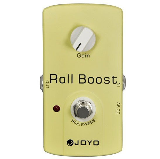[JF-38 | Pedal guitarra Roll Boost]