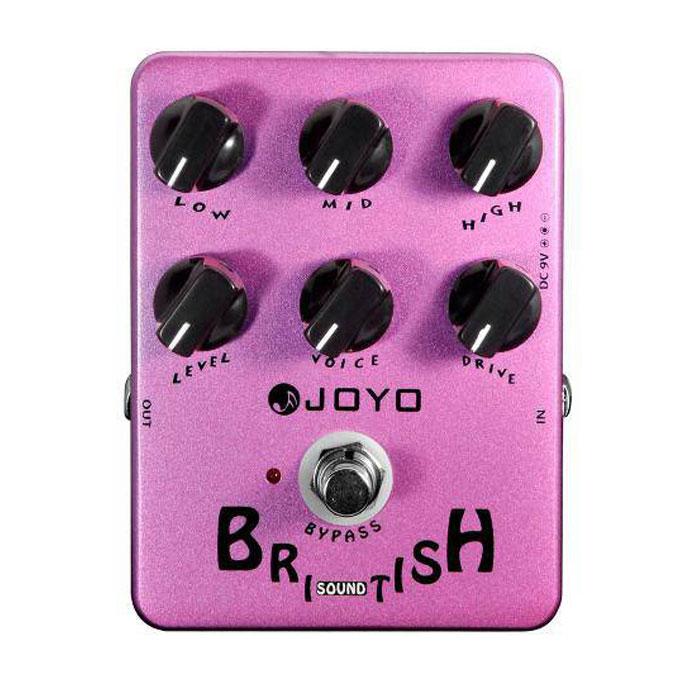 [JF-16 | Pedal guitarra British Sound]