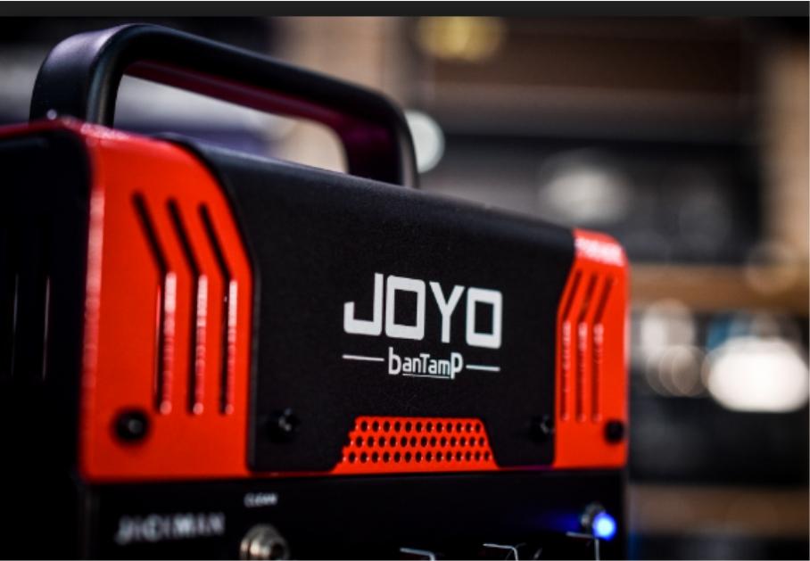 [JOYO apresenta a linha BanTamP – Amplificador pré-valvulado 20W com conexão bluetooth]