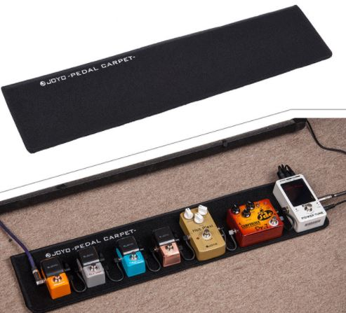 [JOYO Audio lança o Pedal Carpet & Pedal Bag – O pedalboard mais leve do mundo]