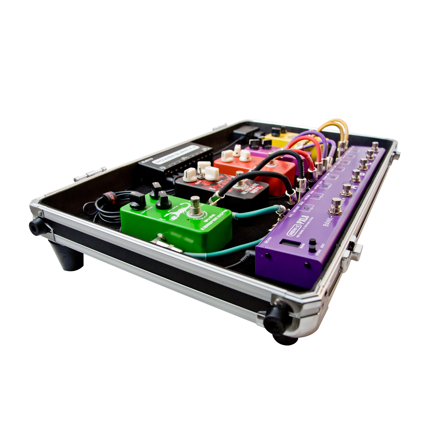 [JOYO-RD-3-Coupe-Driver-RockDriver-Series-Pedal-Board-Flight-Trolley-Case]