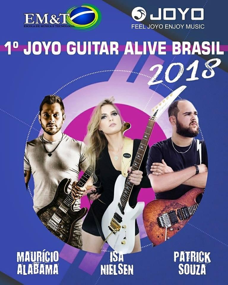 [Joyo apresenta o 1º GUITAR ALIVE BRASIL 2018]