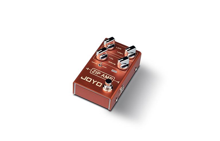 [R-04 | Pedal guitarra Zip Amp overdrive compressor]