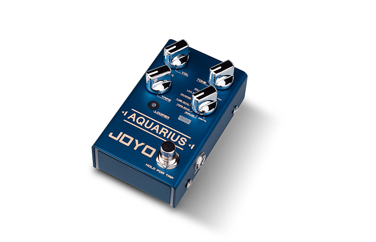 [R-07 | Pedal guitarra Aquarius multimode delay]