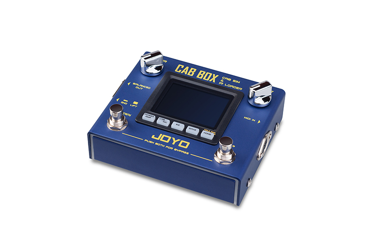 [R-08 | Pedal guitarra Cab Box]