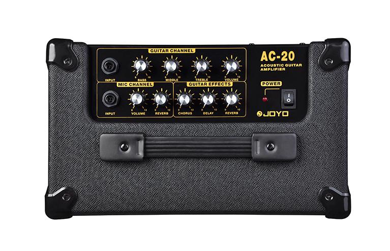 [Amplificador 20W para violão e voz AC-20]