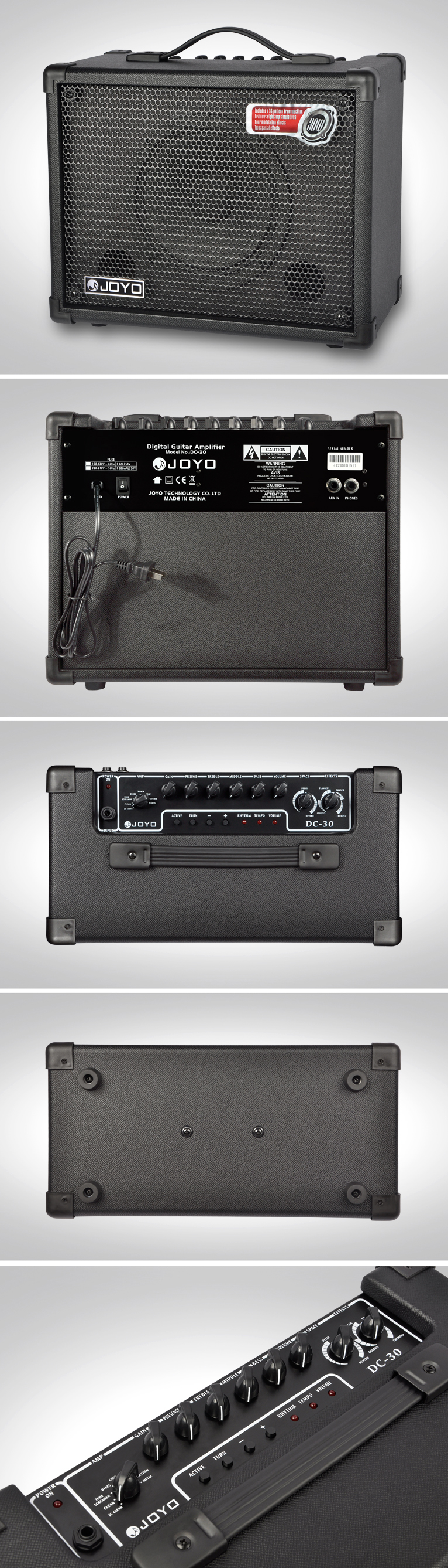 [Amplificador para guitarra Joyo DC-30]