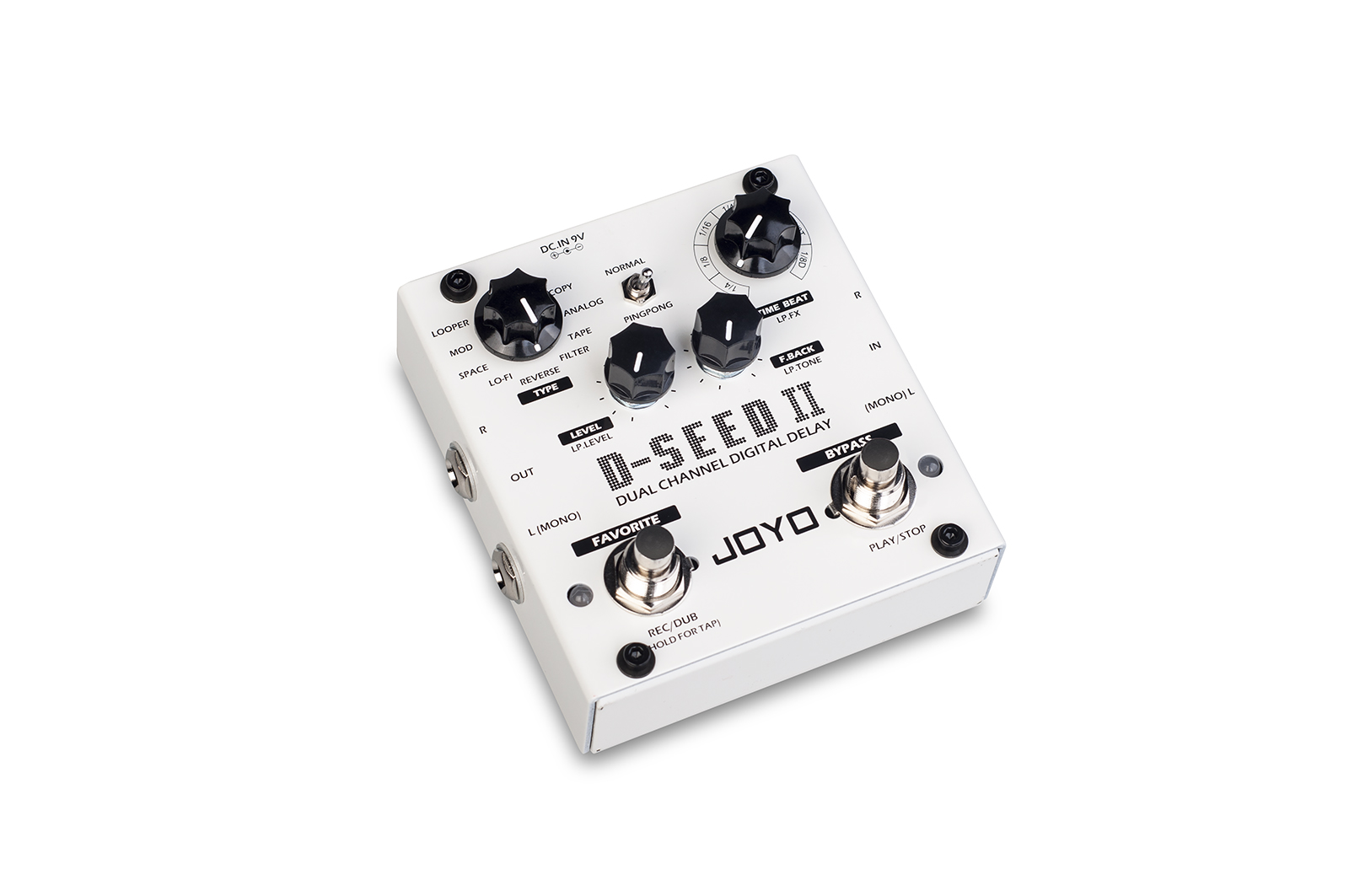 [D-SEED 2 | Dual Channel Digital Delay Stereo]