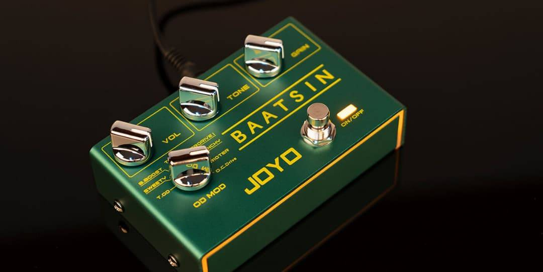 Pedal Joyo Baatsin: 8 incríveis drives analógicos