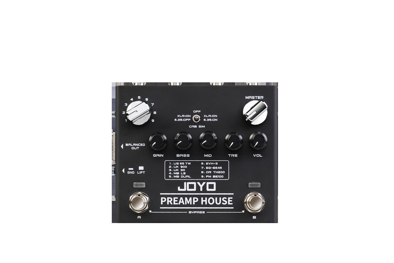 [R-15 | Pedal guitarra Preamp House]