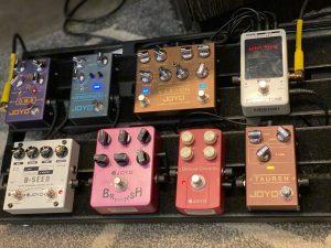 Dicas de setup de pedais de guitarra JT305