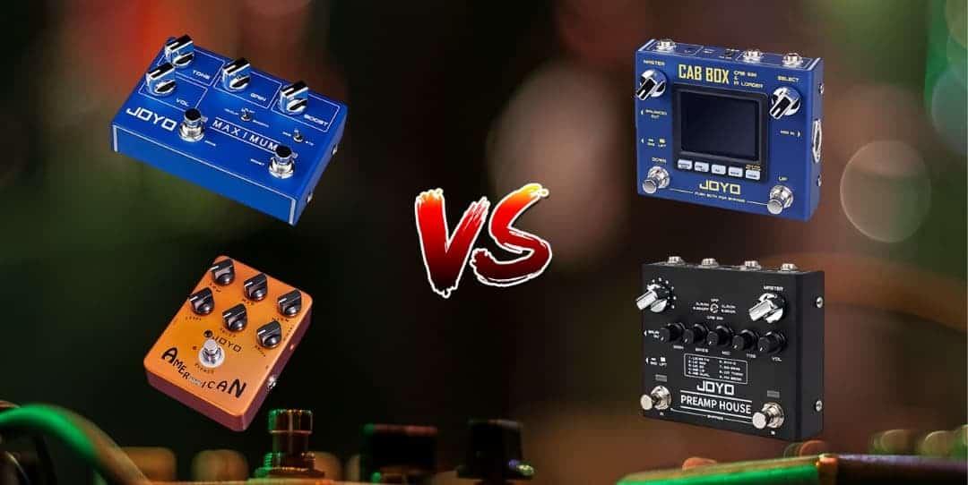 Pedal de preamp, simuladores de amp e gabinetes. Qual é a diferença?
